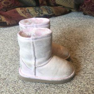 Ugg Australia light pink classic sheepskin boots 7